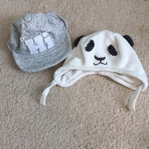 Name brand Lot of 2 baby hats